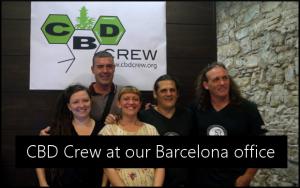 cbd crew at Barcelona